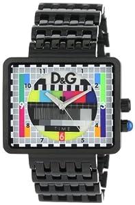 D&G Dolce & Gabbana Men's DW0754 Medicine Man Ext TV Case Analog Backlight Multicolor Dial Watch