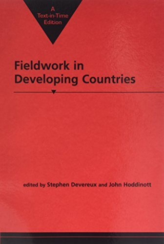 Fieldwork in Developing Countries by Stephen Devereux (1992-11-04) (Fieldwork In Developing Countries compare prices)