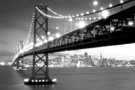 Bridge Photography Black And White Bridge in Black And White