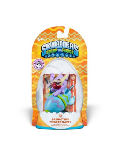 Skylanders SWAP Force Limited Edition Spring 2014 Springtime Trigger Happy S3 Character Pack