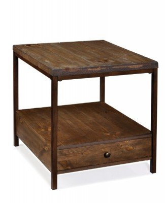 Buy Low Price Magnussen Pinecrest Wood Rectangular Accent End Table (T1690-31)