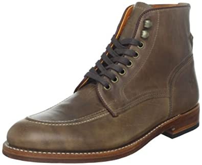 FRYE Men's Walter Lace-Up Boot Tan 9.5 M US