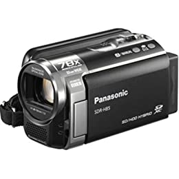 Panasonic SDR-H85K Std-Def Camcorder with 78X Zoom 80GB HDD Black