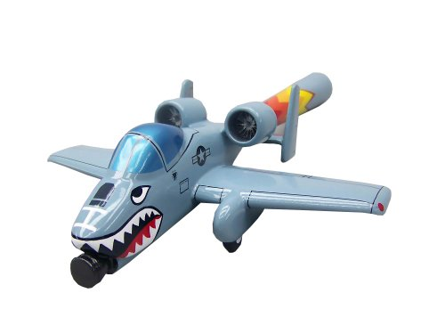 Picture of ModelWorks Actionjetz A-10 Warthog Gray Model Airplane Figure (B001KZH886) (ModelWorks Action Figures)