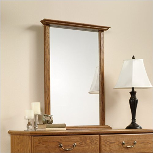 Sauder Orchard Hills Mirror Carolina Oak front-1058652