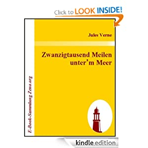 Zwanzigtausend Meilen unter'm Meer (German Edition) Jules Verne and unknown unknown