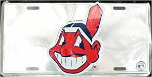 LP - 629 Cleveland Indians Premium Chrome License Plate - 50035