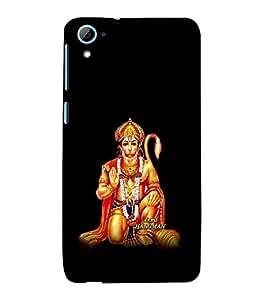 printtech Lord God Hanuman Back Case Cover for HTC Desire 826::HTC Desire 826 Dual