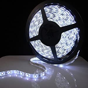 TechCode 2014 RGB Color Changing SMD 5050 Flexible LED Strip Kit, 44 key Remote Control + 12 Volt Power Supply, by TechCode