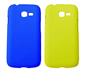 Winsome Deal 2 Pieces of Exclusive Quality Hard Back Cover Case For Samsung Galaxy Star Pro S7262