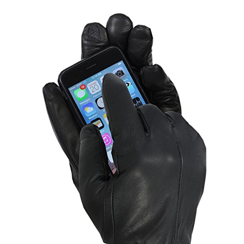 isotoner-mens-genuine-leather-gloves-smartouch-technology-medium