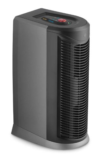 Hoover - Tabletop Air Purifier - Gray/Black WH10100