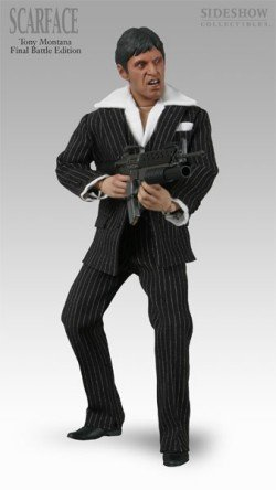 Buy Low Price Sideshow Scarface Final Battle 12″ Action Figure (B000MM1IDO)