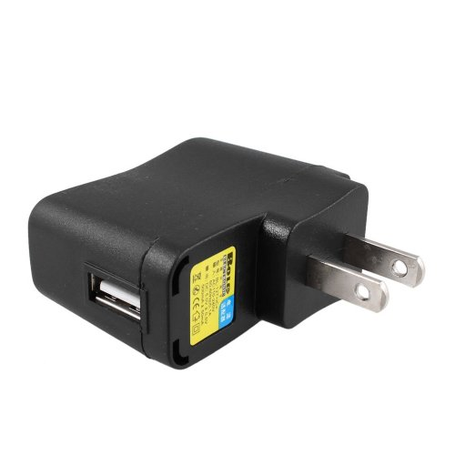 TOOGOO(R) AC 110V-240V to DC 5V 500mA USB to 2 Pin US Plug Power Adapter Charger (Dc 5v 500ma Ac Adapter compare prices)