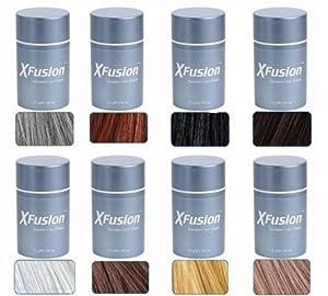 XFusion Keratin Hair Fibers Regular, Light Brown, 12g / 0.42 Ounce