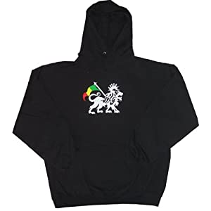 Rasta Lion Adult Hooded Hoody Hoodie Sweatshirt