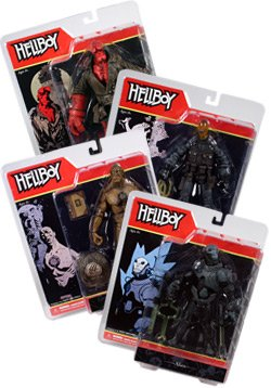 Buy Low Price Mezco Hellboy Comic Series 2 Figure Set Of 4 (B002AXQVDU)