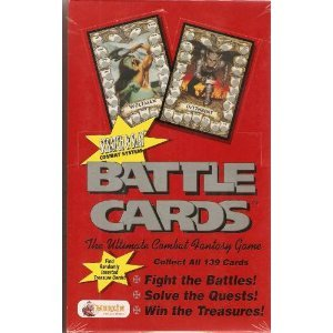 Scratch and Slay Combat System Battle Cards (BOX OF 36 PACKS) - 1