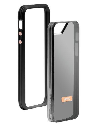 Special Sale Avivo Rail Carbonate / Apple iPhone 5 & 5S Polycarbonate Rail Visor Case (Stealth Black + Visor Jacket)
