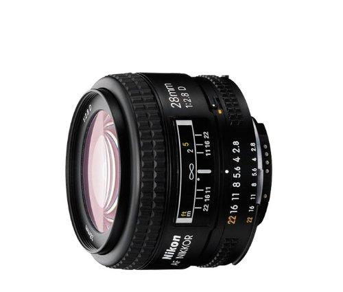 Nikon AF NIKKOR 28mm f/2.8D Lens