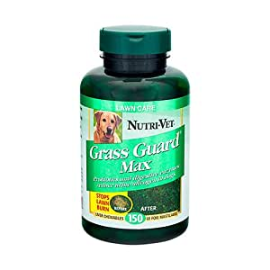 Nutri-Vet Grass Guard Max Chewable 365ct