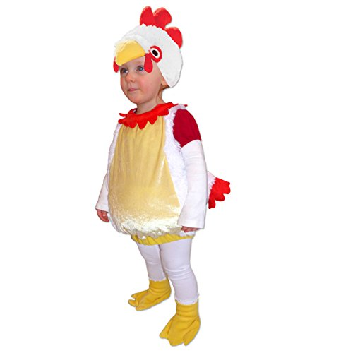 Rooster Infant Halloween Costume 12-24 Months yellow, white red