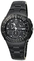 Men's watches special offers - Citizen Men's Eco-Drive Black Ion-Plated Skyhawk Watch #JR3155-54E :  mens watch citizen
