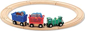 Melissa & Doug Children's Farm Animal Train Set