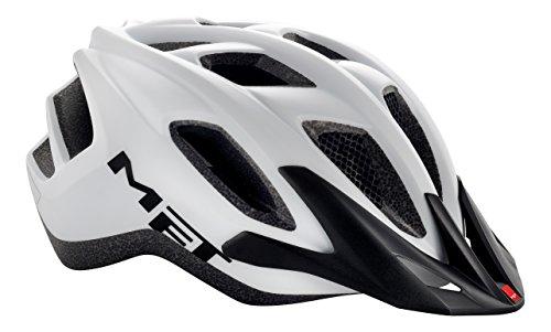Met adulti Road Helmet Funandgo, Unisex, Funandgo, bianco, Taglia unica