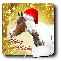 holidays-chirstmas-horse-mouse-pads