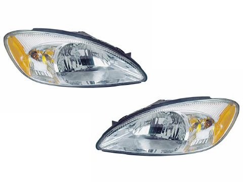 Ford Taurus Headlights OE Style Replacement Headlamps Driver/Passenger Pair New (Oe Headlights compare prices)