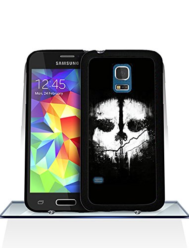 Call Of Duty Ghosts Logo Samsung S5 Mini CustodiaCase - Durable CustodiaCase & Cover {Drop Proof} +{Impact Resistant} CustodiaCase for Samsung Galaxy S5 Mini