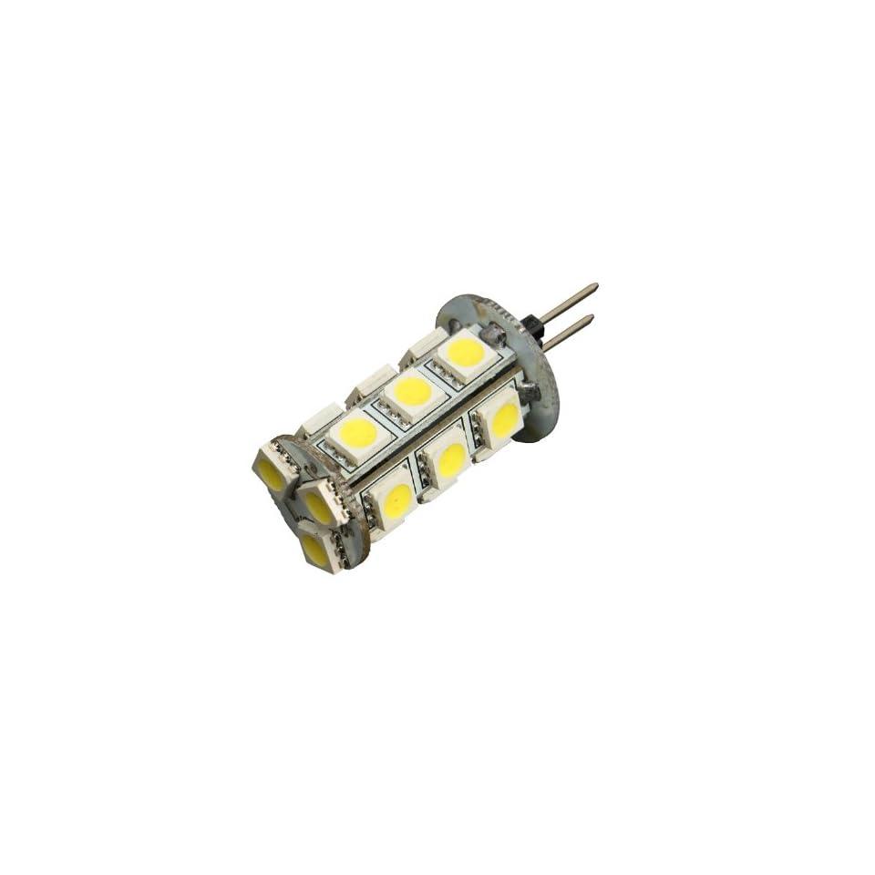 Generic G4 3.6W 288 Lumen 18 SMD 5050 LED Light white Bulb Lamp DC 12V 6500K home spotlight