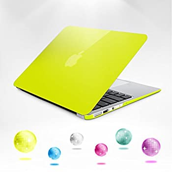 6. Neon Party (TM) Series iBenzer Smooth Finish Plastic Hard Case Cover
