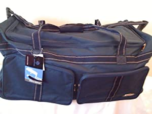 Extreme Style Black Wheelie Travel Holdall 104 Litre