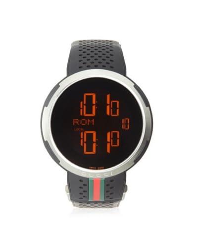 Gucci Men's YA114103 Black Stainless Steel Watch