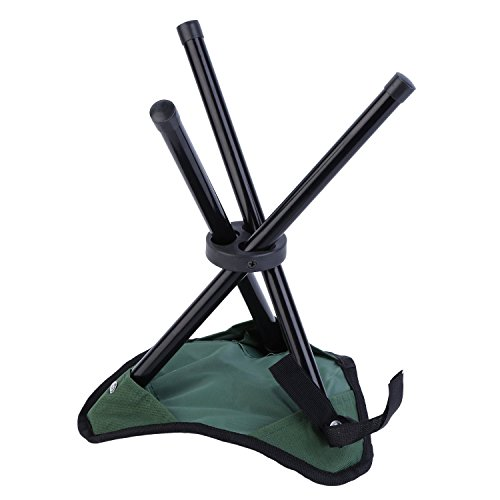 san tokra mini portable outdoor folding tripod stool camping fishing picnic chair small. Black Bedroom Furniture Sets. Home Design Ideas