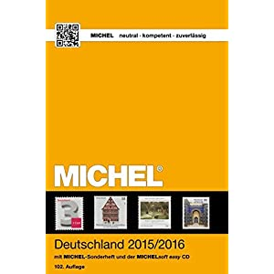 MICHEL-Katalog Deutschland 2015/2016 (mit CD): in Farbe