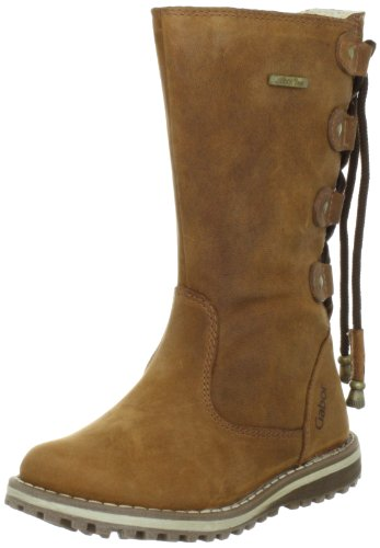 Gabor kids Mima Boots Girls Brown Braun (tan) Size: 8 (25 EU)