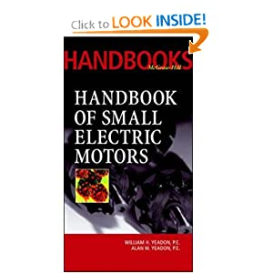 Handbook of Small Electric Motors by William and Alan Yeadon PDF eBook