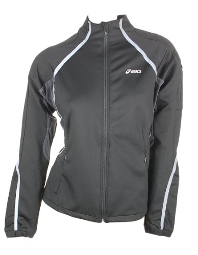Asics Running Sport Jacket Hera Glued witht Gore Windstopper Women 0900 Art. 582001