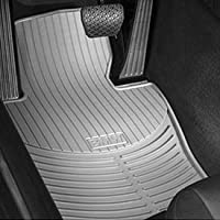 Bmw All Weather Rear Rubber Floor Mats 323 325 328 330 Sedan Wagon 1999-2005 Coupe 2000-2006 - Beige from BMW
