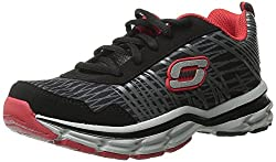Skechers Boys Prompt - Amend Black and Red Sneakers - 13 UK/India (32 EU) (1 US)