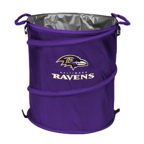 Nfl Baltimore Ravens 3-In-1 Cooler