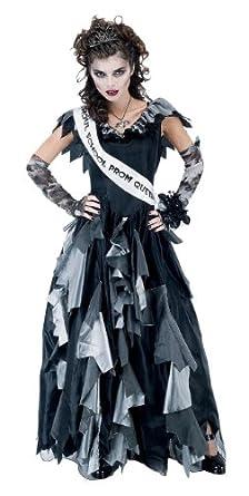 Womens Zombie Prom Queen Costume, Medium (Medium)
