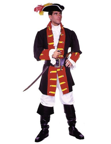 Captain Hook Prince Suit Md Adult Mens Costume