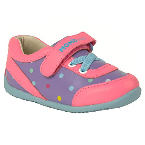 Momo Baby Girls First Walker/Toddler Olivia Sneaker Shoes - 6 M US Toddler