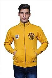 Unicott_H/N Zipper_Sweatshirt_Mustard_XX-Large