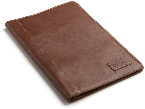 Cole Haan Hand-Stained Pebble Grain Leather Kindle Cover with Hinge (Fits 6