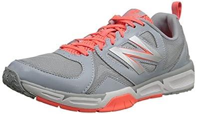 New Balance Women's WX797 Training Shoe,Grey/Coral,5 D US